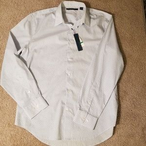 Perry Ellis Mens dress shirt size L NWT